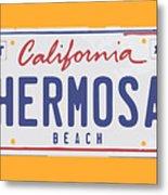 Hermosa Beach. Metal Print