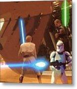 Jedi Star Wars Poster Metal Print
