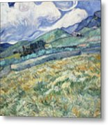 Landscape From Saint-remy Metal Print