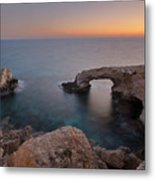 Love Bridge - Cyprus Metal Print