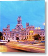 Madrid, Spain Metal Print