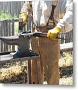 Male Farrier. Metal Print