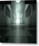 Mental Asylum Haunted Metal Print