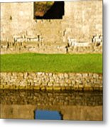 Nunney Castle Metal Print
