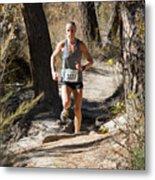 Pikes Peak Road Runners Fall Series IIi Race Metal Print