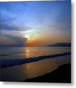 Playa Huequito Metal Print