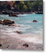 Rocky Seashore Metal Print
