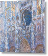 Rouen Cathedral, West Facade Metal Print
