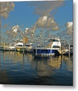6- Sailfish Marina Metal Print