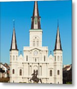 Saint Louis Cathedral Metal Print