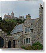 St Michael's Mount Cornwall Metal Print