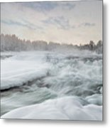 Storforsen - Sweden Metal Print
