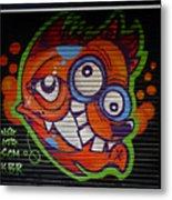 Street Art In Palma Majorca Spain Metal Print