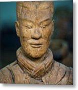 Terracotta Warrior Pit 1 Xian Shaanxi China Metal Print