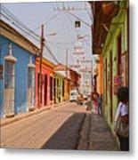 Traversing Santiago De Cuba, Cuba. Metal Print