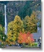 View Of Oregon Metal Print