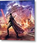 Vintage Star Wars Art Metal Print