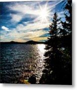 Waldo Lake Metal Print