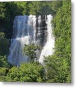 Waterfall In Geiranger Norway Metal Print