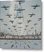 World War II Advertisement Metal Print