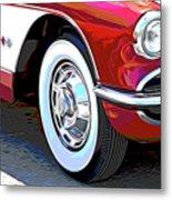 61 Corvette Metal Print