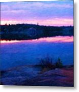 Oil Painting Landscape Pictures Metal Print