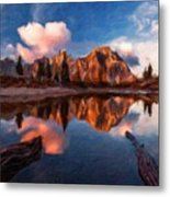 G H Landscape Metal Print