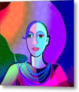 646 - Ice And Passion A Metal Print