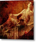 Winsome Woman  Metal Print