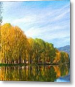 Landscape Art Nature Metal Print