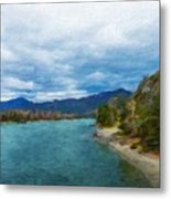 Nature Landscape Light Metal Print