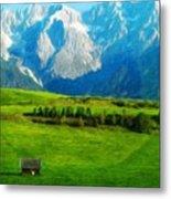 Nature Landscape Nature Metal Print