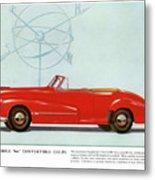 66 Oldsmobile Metal Print