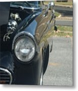 55 Thunderbird Front And Side Metal Print
