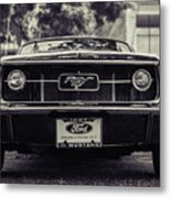 67 In The Shade Metal Print