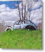 67 Volkswagen Beetle Metal Print