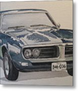 68 Firebird Sprint Metal Print