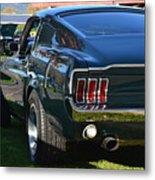 67 Mustang Fastback Metal Print