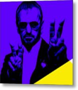 Ringo Starr Collection Metal Print