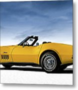 '69 Corvette Sting Ray Metal Print