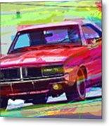 69 Dodge Charger  Metal Print