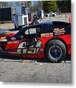 69 In The Paddock Metal Print