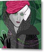 692  Decembers Lady A Metal Print