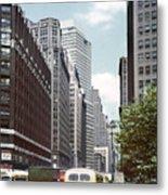 6th Avenue New York 1950 Metal Print