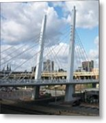 6th Street Bridge Metal Print