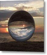 7-24-16--4250 Don't Drop The Crystal Ball, Crystal Ball Photography Metal Print