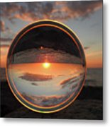 7-26-16--4577 Don't Drop The Crystal Ball, Crystal Ball Photography Metal Print