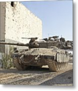 An Israel Defense Force Merkava Mark II Metal Print