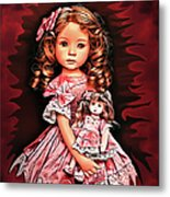 Baby Doll Collection Metal Print