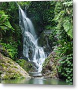 Beautiful Waterfall Metal Print